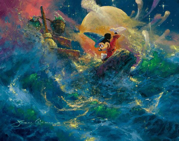 "James Coleman Disney ""Sorcerer Symphony"" Limited Edition Canvas Giclee"