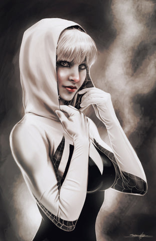 "Jed Thomas ""Spider Gwen"" Limited Edition Metal"