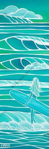 "Heather Brown ""Spring Swell"" Limited Edition Canvas Giclee"