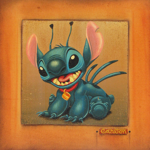 "Trevor Carlton Disney ""Stitch"" Limited Edition Canvas Giclee"