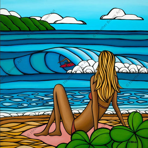 "Heather Brown ""Summer Vacation"" Limited Edition Canvas Giclee"