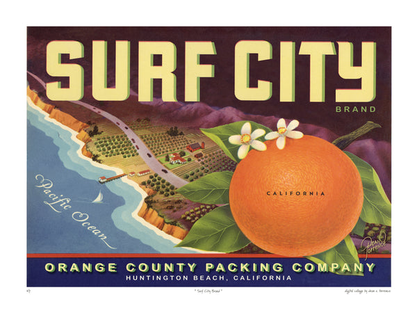 "Dean Torrence ""Surf City"" Open Edition Metals"