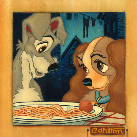 "Trevor Carlton Disney ""Sweet Love"" Limited Edition Canvas Giclee"