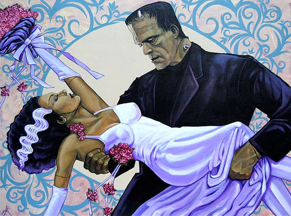 "Mike Bell ""The Wedding"" Canvas Giclee"