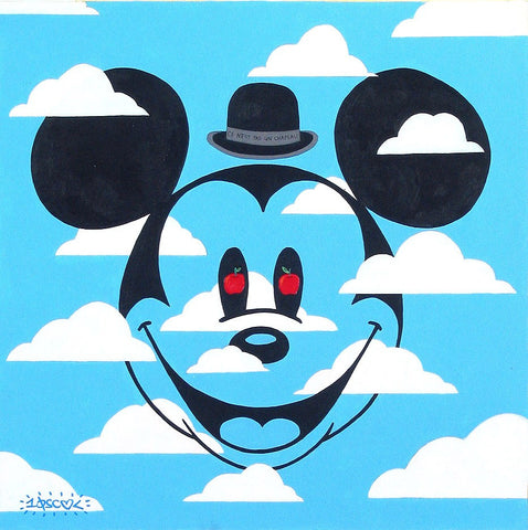 "Tennessee Loveless Disney ""Cet N'est Pas Un Chapeau"" Limited Edition Canvas Giclee"