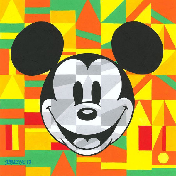 "Tennessee Loveless Disney ""Steamboat Willie Unlocked"" Limited Edition Canvas Giclee"