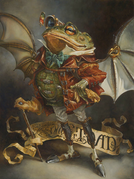 "Heather Edwards Disney ""The Insatiable Mr. Toad"" Limited Edition Canvas Giclee"