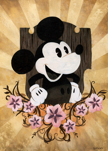 "Daniel Arriaga Disney ""The Mouse"" Limited Edition Paper Giclee"