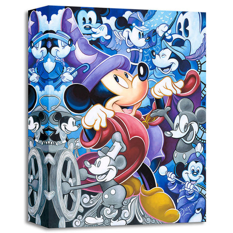 "Tim Rogerson Disney ""Celebrate the Mouse"" Limited Edition Canvas Giclee"