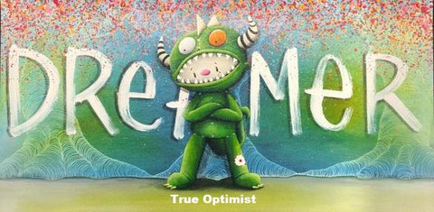 "Fabio Napoleoni ""True Optimist"" Limited Edition Canvas Giclee"