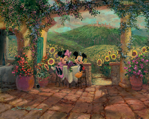 "James Coleman Disney ""Tuscan Love"" Limited Edition Canvas Giclee"