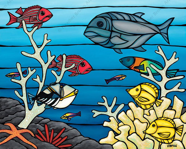 "Heather Brown ""Under the Sea"" Limited Edition Canvas Giclee"