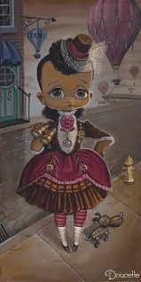 "Bob Doucette-""Zora the Explorer "" - Limited Edition of 500-7"" by 14""- Canvas Giclee Print -Art Center Gallery www.shopartcenter.com  1-866-254-6523"