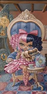 "Bob Doucette Bob Doucette-""Annabella"" - Edition of 500- 7"" by 14""- Canvas Giclee Print Giclee Canvas Prints"