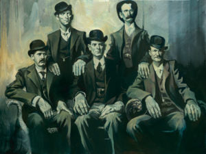 "Gabe Leonard ""Wild Bunch"" Limited Edition Canvas Giclee"