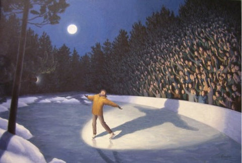 "Rob Gonsalves Rob Gonsalves ""Woodland Arena "" Giclée on Paper 8.5 x 12 "" Limited 300 Paper Giclee"
