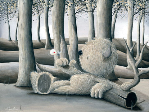 "Fabio Napoleoni ""You're Never Far Away"" Limited Edition Canvas Giclee"