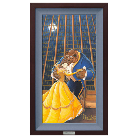 "Michelle St. Laurent Disney ""A Beautiful Dance"" Limited Edition Canvas Giclee"