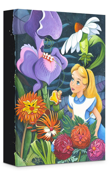 "Michelle St. Laurent Disney ""A Conversation with Flowers"" Limited Edition Canvas Giclee"