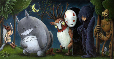 "Justin Hillgrove ""Princess of all Wild Things"" 18"" x 36"" Limited A/P Edition Canvas of  114 Canvas & Paper Giclees & Prints"