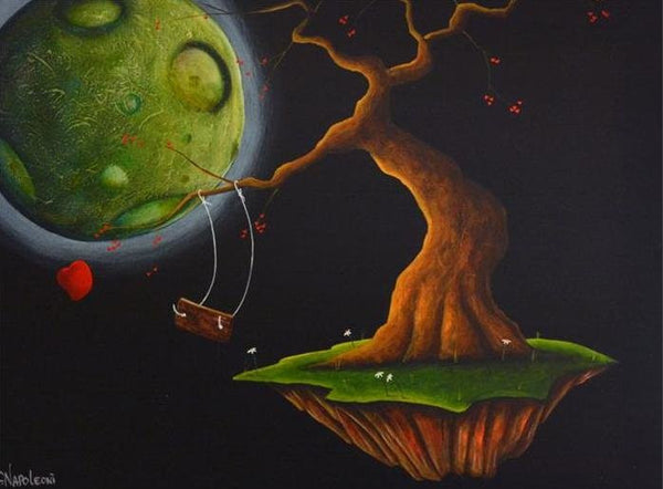 "Fabio Napoleoni ""Leap of Faith"" Limited Edition Canvas Giclee"