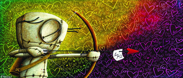 "Fabio Napoleoni ""Straight to Your Heart"" (Metal) "" Limited  Metal  350 - 21"" X 9"""