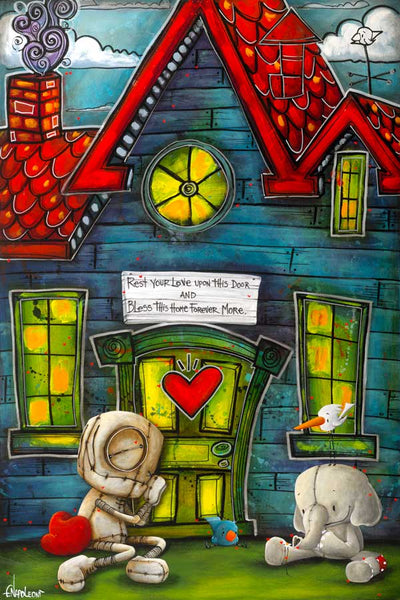 "Fabio Napoleoni ""Your Love is my Home"" Limited Edition Canvas Giclee"