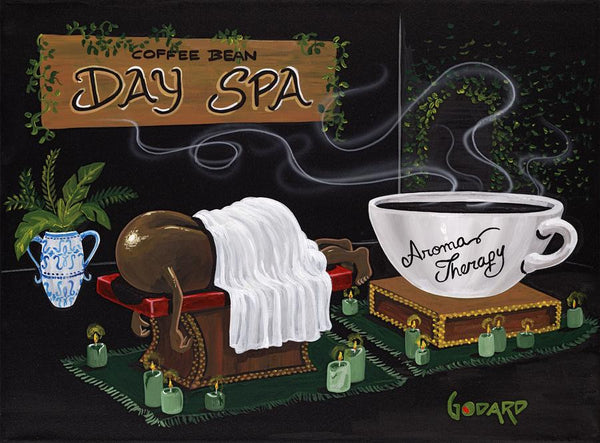 "Michael Godard ""Aroma Therapy"" Limited Edition Canvas Giclee"