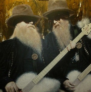 "Stickman ""Coz Every Girlz Crazy"" ( ZZ Top's) Limited Edition Canvas Giclee"
