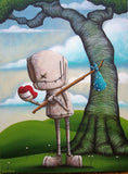 "Fabio Napoleoni-  "" Let Your Heart Guide "" - Size 18 by 24 - Limited Canvas Edition of 21 -Art Center Gallery www.shopartcenter.com  1-866-254-6523"