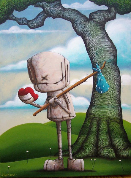 "Fabio Napoleoni ""Let Your Heart Guide The Way"" Limited Edition Canvas Giclee"