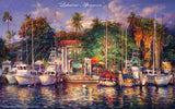 "Cao Yong CAO YONG ""Lahaina Afternoon"" Limited Edition H/E CANVAS 20"" by 32"" Paintings"