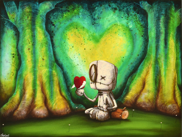 "Fabio Napoleoni ""Tranquil Presence of Hope"" Limited Edition Paper Giclee"