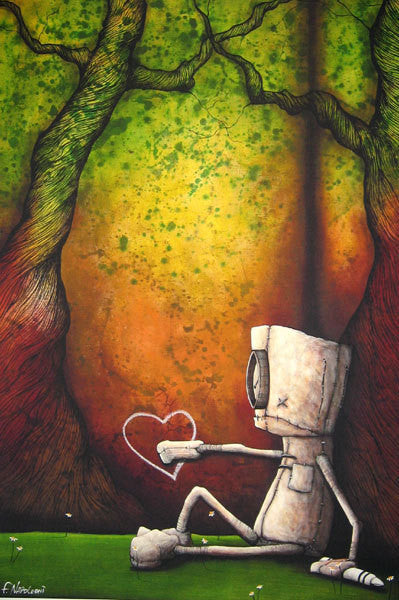 "Fabio Napoleoni ""Your Presence is Required"" - Framed Limited Edition Canvas Giclee"