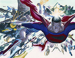 "Alex Ross ""Kingdom Come: Absolute"" Limited Edition Canvas Giclee"