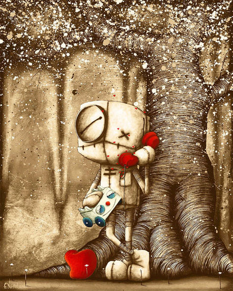 "Fabio Napoleoni ""Your Voice Makes My Heart Sing (Metal) Limited Metal Edition 350 -  8"" X 10"""