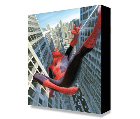 "Art Center Gallery Alex Ross Art ""Learning To Crawl "" S/N mini edition giclees: 11.5"" x 17.5"" Edition of 500 Giclee Canvas Prints"