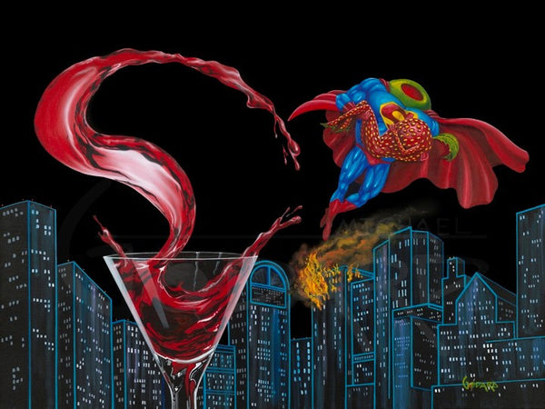 "Michael Godard ""Super-Tini"" Limited Edition Canvas Giclee"