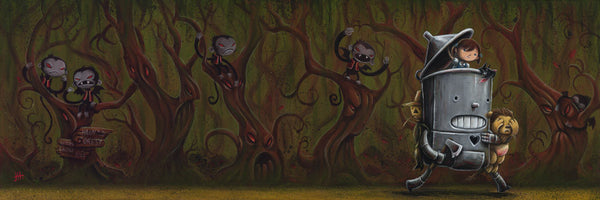 "Justin Hillgrove ""Through The Haunted Forest"" Limited Edition Canvas Giclee"
