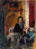 "CAO YONG ""A Quiet Moment"" LIMITED EDITION H/E CANVAS 12"" by 16"" -Art Center Gallery www.shopartcenter.com  1-866-254-6523"