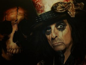 "Stickman ""In My Eye Blood Drops Look Like Roses"" (Alice Cooper) Limited Edition Canvas Giclee"