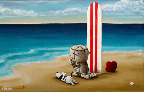 "Fabio Napoleoni ""I'm at your Mercy""  Limited PP Canvas -18"" X 24""  Limited Edition"