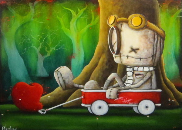 "Fabio Napoleoni ""Let's Get this Show on the Road"" Limited Edition Paper Giclee"