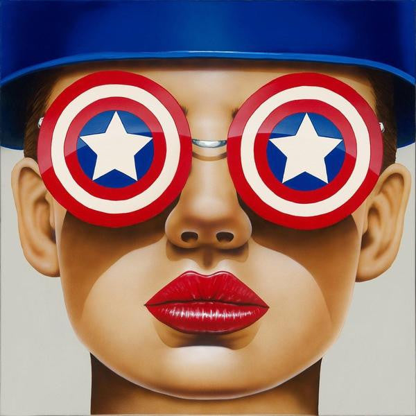 "Art Center Gallery Scott Rohlfs  ""Star Struck""  Canvas Giclee  24"" X 24""  Limited Edition 125 Canvas Giclee"