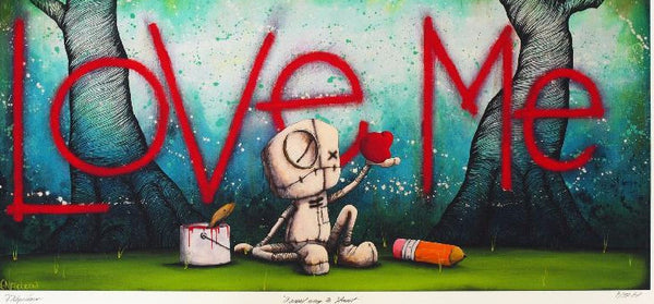 "Fabio Napoleoni-  ""A Great Way to Start"" - Edition SN 247 Size 15 by 30 - Art Center Gallery"