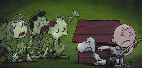 "Justin Hillgrove ""Good Grief"" 24"" x 12"" Limited A/P Paper Edition of  18 Canvas & Paper Giclees & Prints"