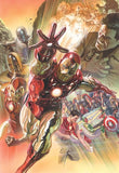 "Art Center Gallery Alex Ross Art ""Superior Iron Man "" S/N edition Canvas giclees: 19.5"" x 30"" Edition of 75 Canvas Giclee"