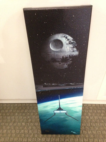 "STAR WARS -  ""Fly Casual""  30 X 10 limited Edition  195  GICLÉE CANVAS"