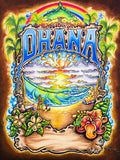 "Drew Brophy Art "" OHANA "" S/N Limited edt Canvas 24"" x 32"" Edition of 250"