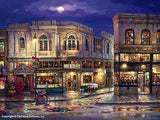 "CAO YONG ""City Light"" LIMITED EDITION H/E CANVAS 30"" by 40"" - Art Center Gallery"